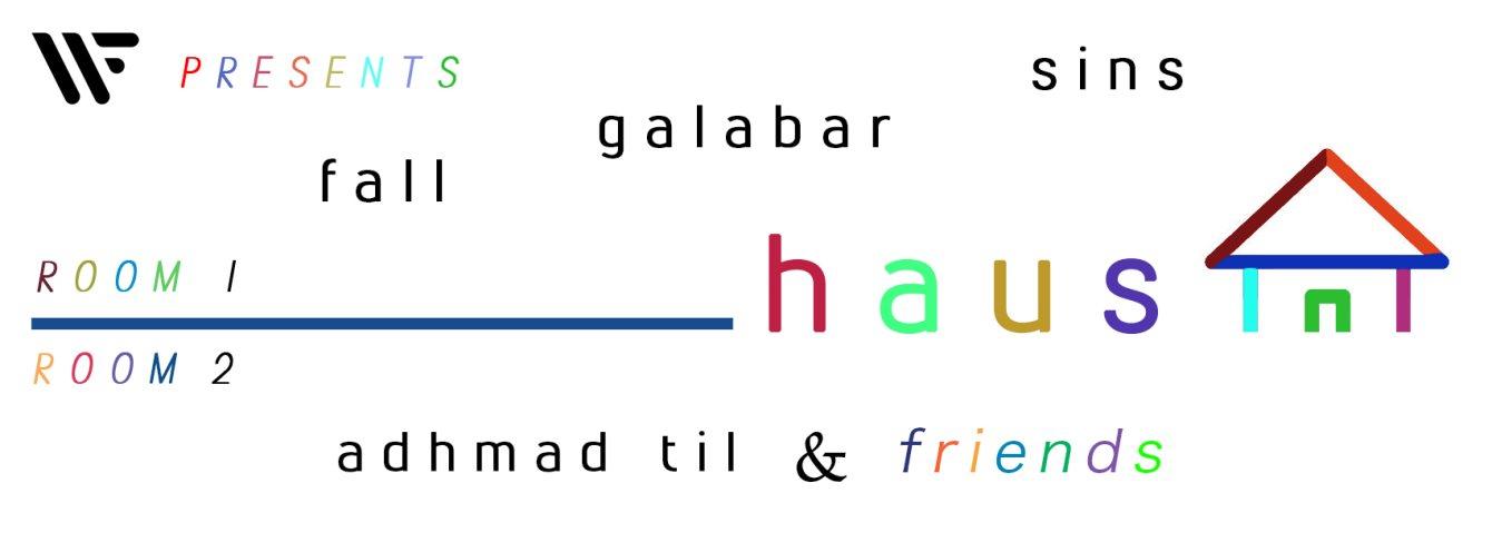 WF presents //// Haus - Flyer front