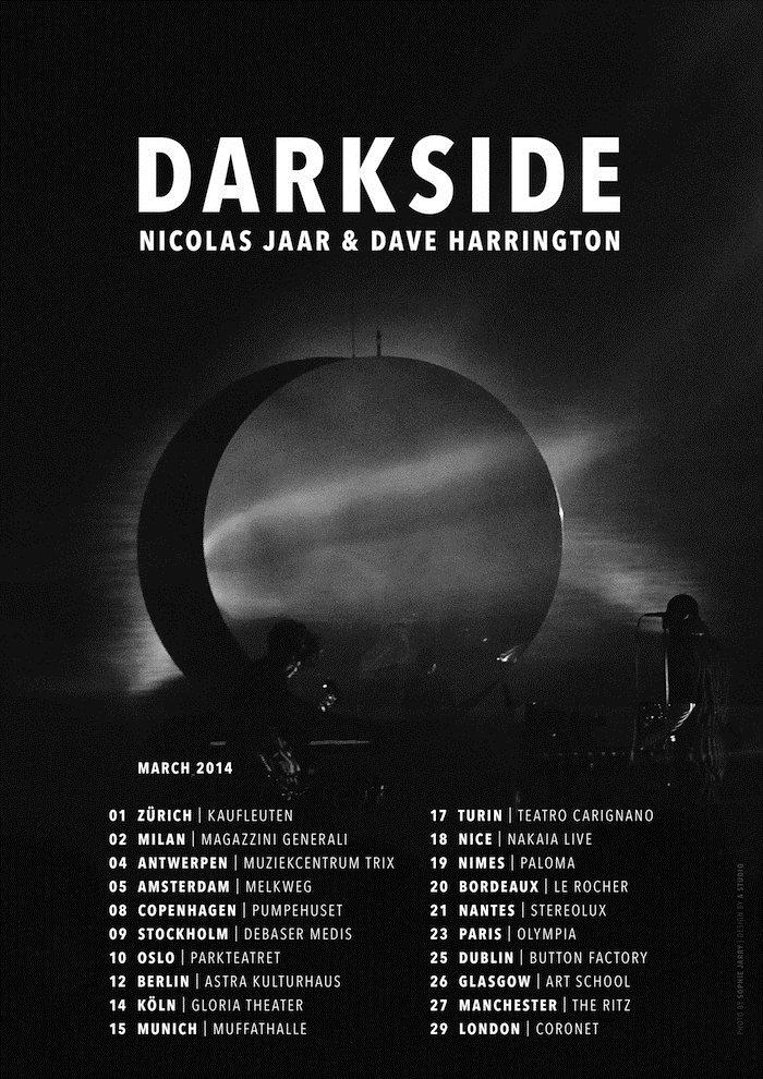 Hidden Agenda presents: Darkside - Flyer front