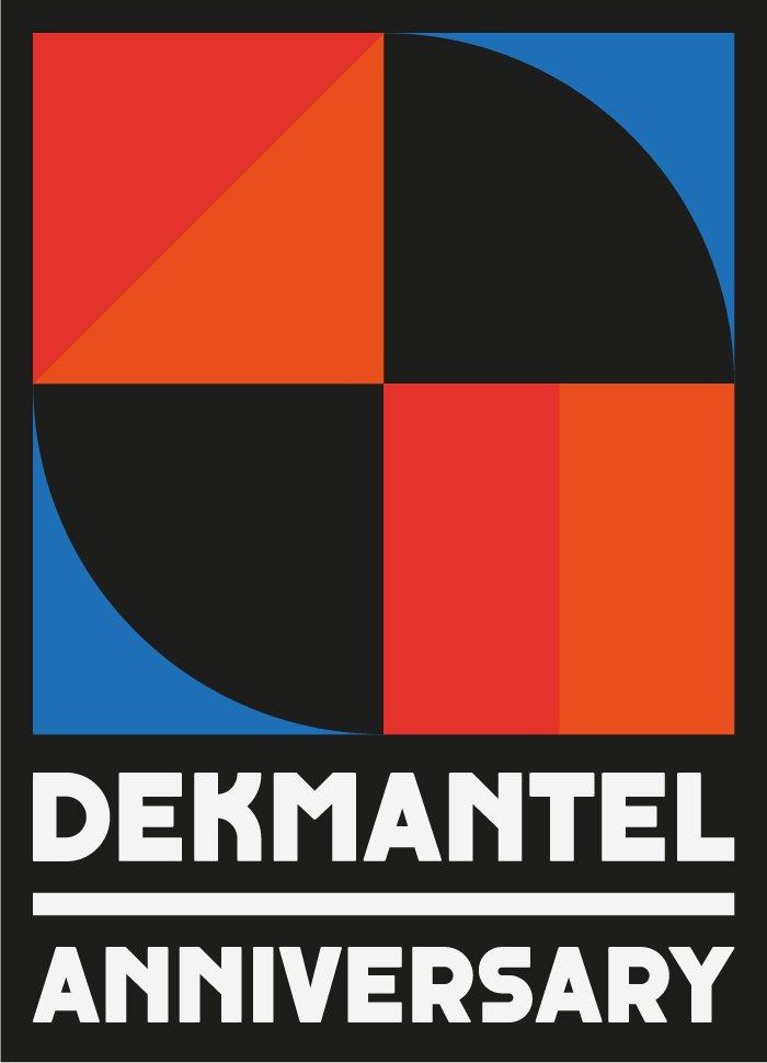Dekmantel Anniversary - Flyer front