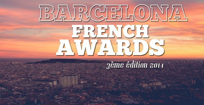 Barcelona French Awards - Flyer front