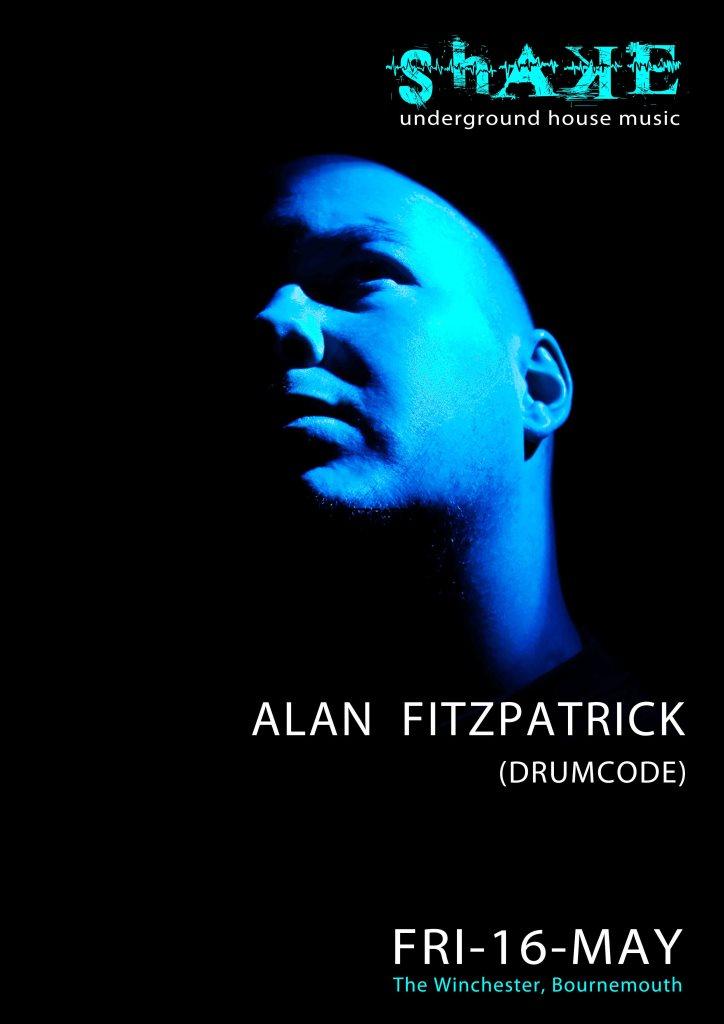 Shake - Alan Fitzpatrick - Flyer front