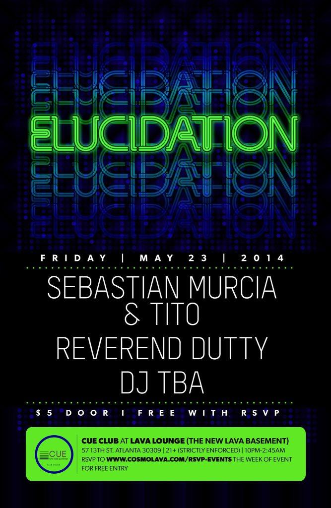 Return of Elucidation - Flyer front
