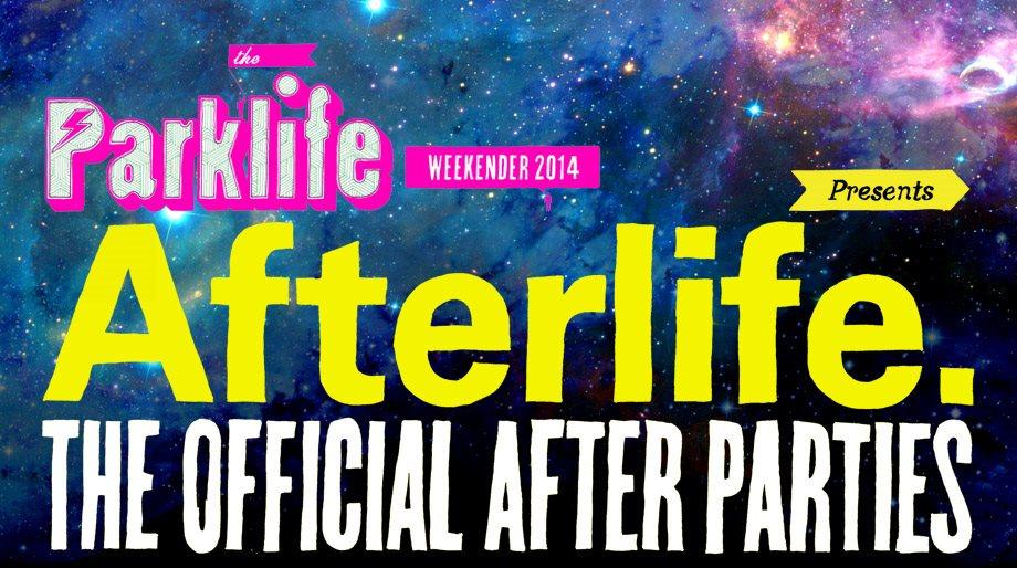 Lost Control Presents: Parklife Afterlife - Flyer front