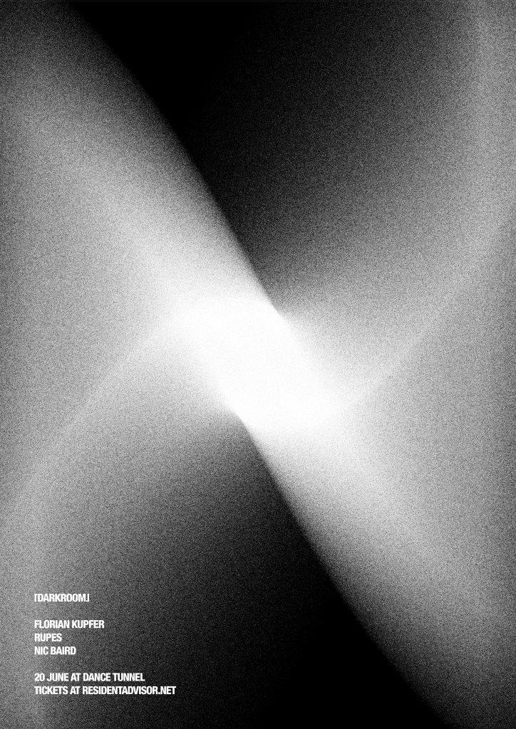 Darkroom with Florian Kupfer - Flyer front