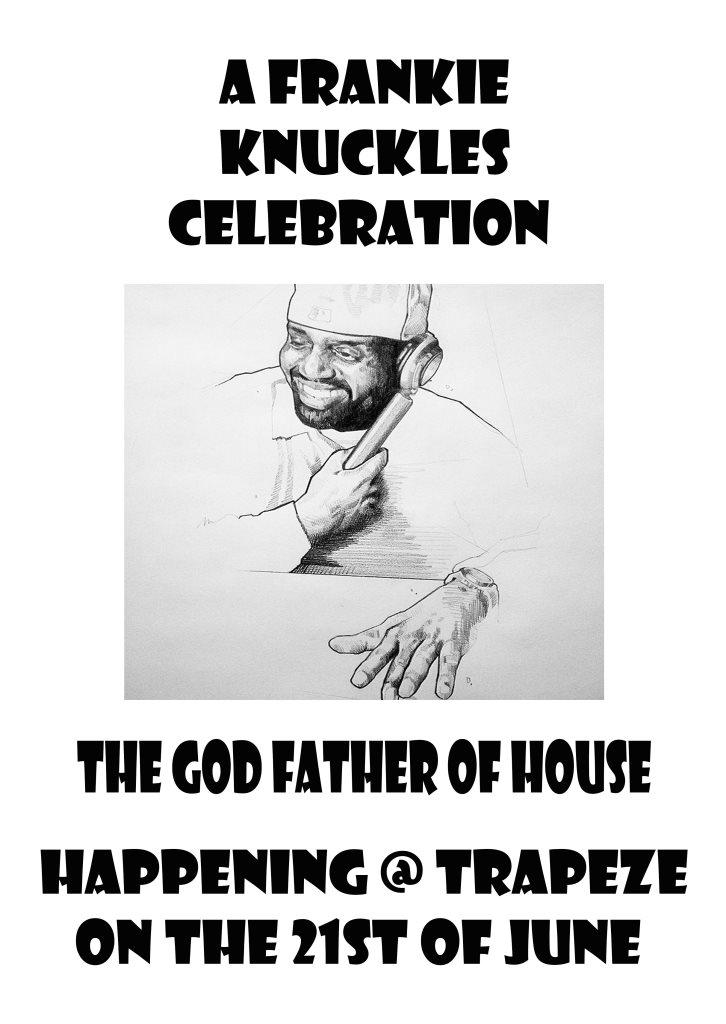 A Frankie Knuckles Celebration - Flyer front