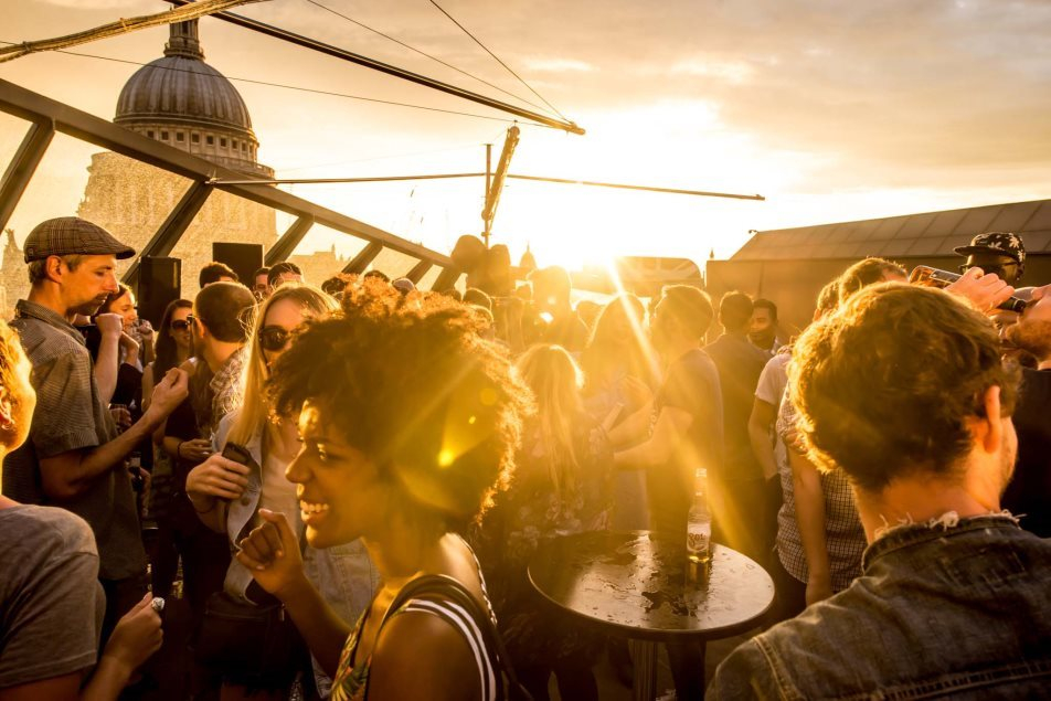 Notsosilent Rooftop Party with Rahaan & The Black Madonna - Flyer back