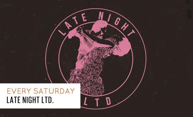 Late Night Ltd: Joshua James + Breaks Mag + Percolate Djs - Flyer front