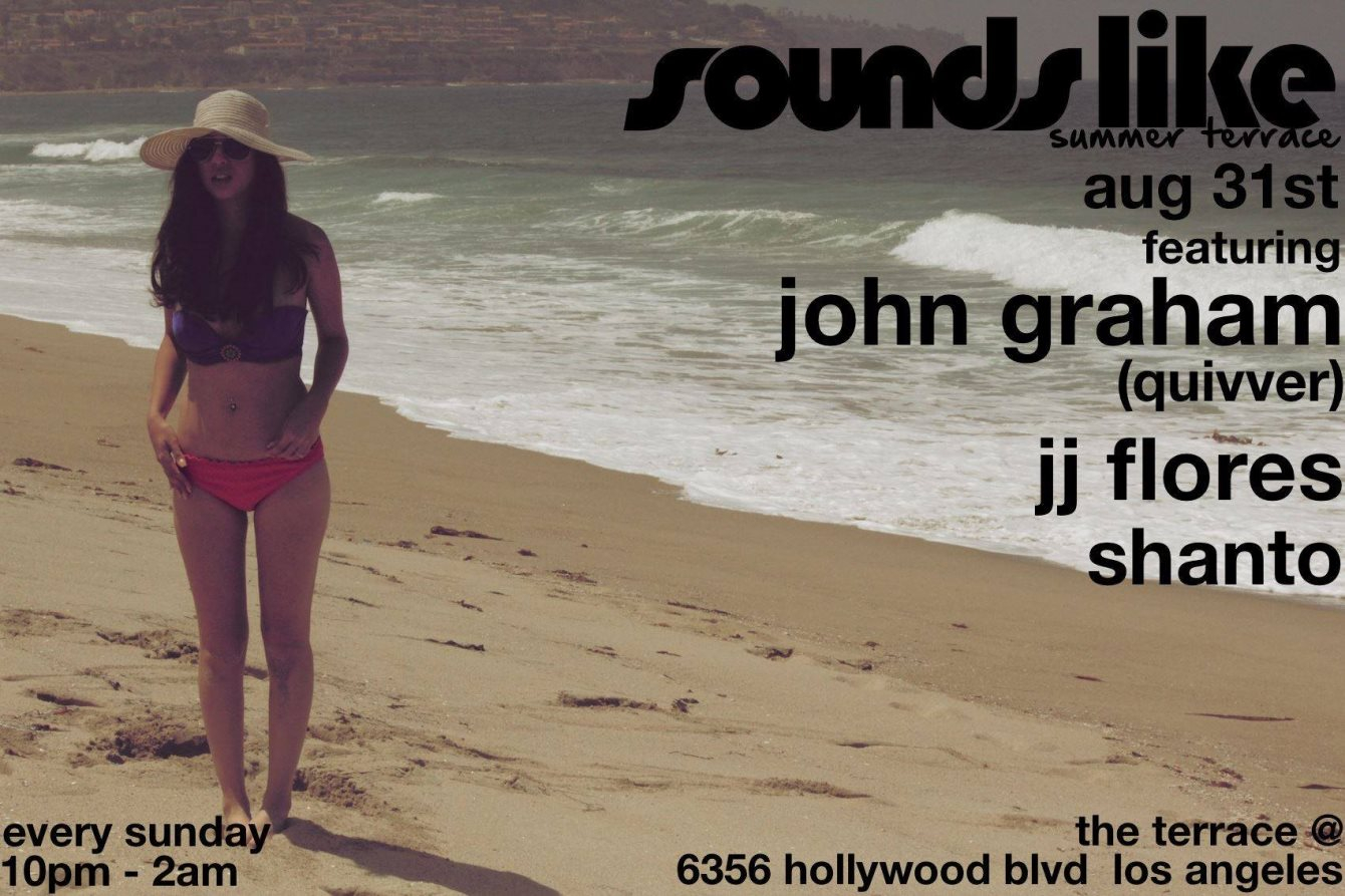 Sounds Like Sundays Summer with Trent Cantrelle & Guests - Flyer back