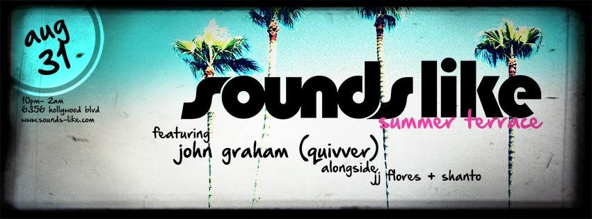 Sounds Like Sundays Summer with Trent Cantrelle & Guests - Flyer front