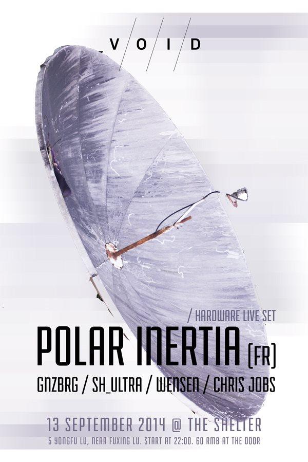 Void presents Polar Inertia - Flyer front