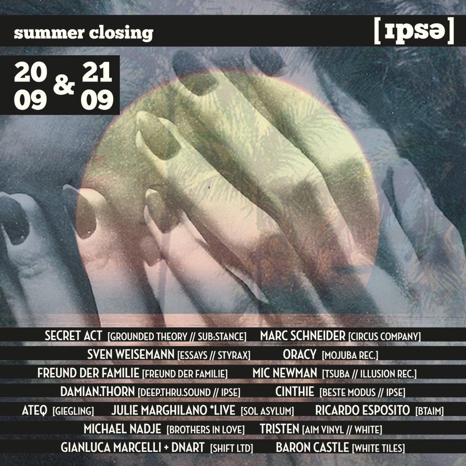 Summer Closing Open AIR pt.2 - Flyer front