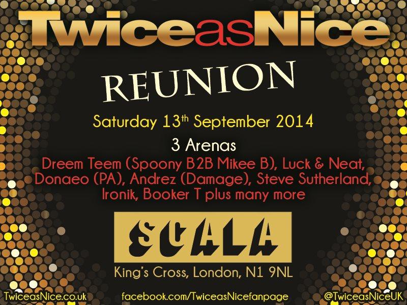 Twiceasnice Reunion - Flyer back