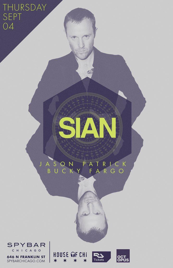 Sian - Jason Patrick - Bucky Fargo - Flyer front