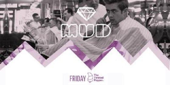 MUD: Bodytonic & Bedlam present Isaac Tichauer & Lane 8 - Flyer front