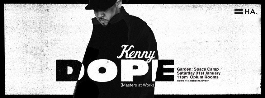 Hidden Agenda: Kenny Dope - Flyer front