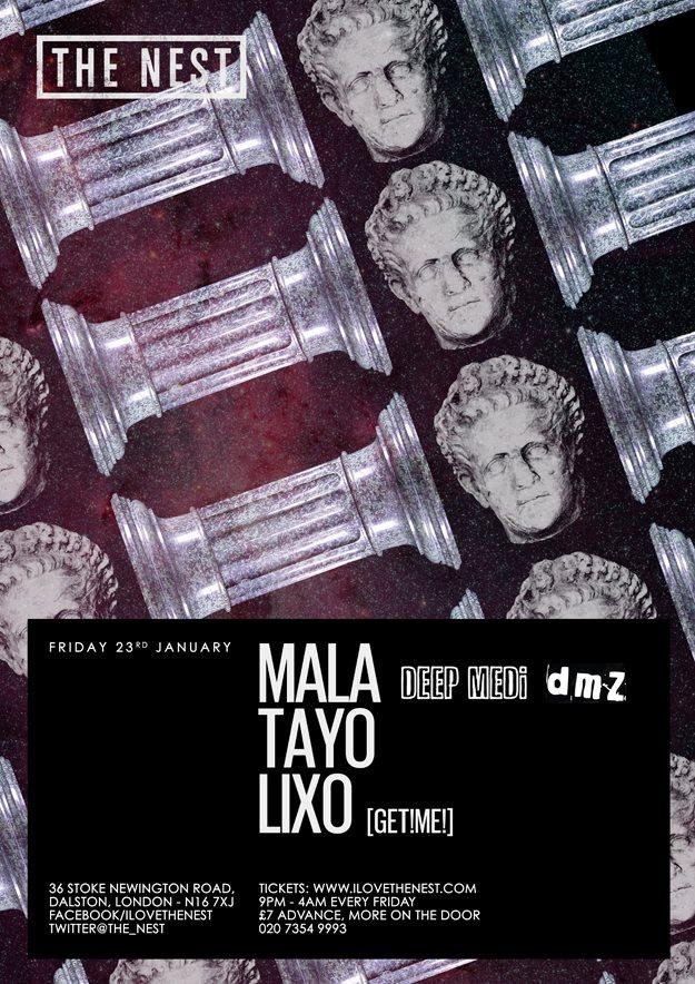 Mala + Tayo + Lixo - Flyer front