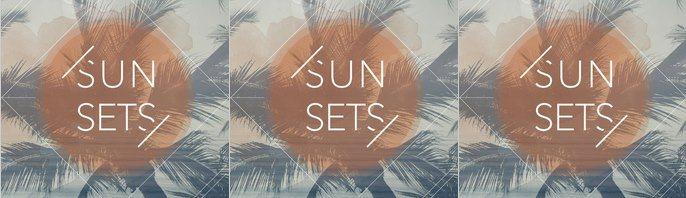 Cafe del Mar 'Sun Sets' - Summer Opener - Flyer front
