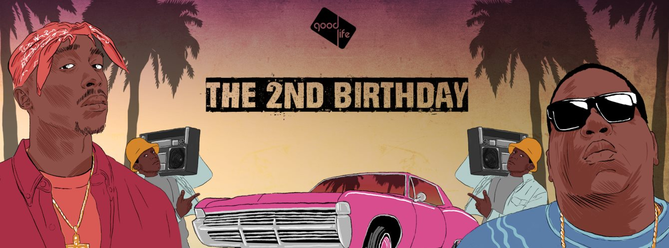 Good Life 2nd Birthday: Hip Hop Special - Flyer front