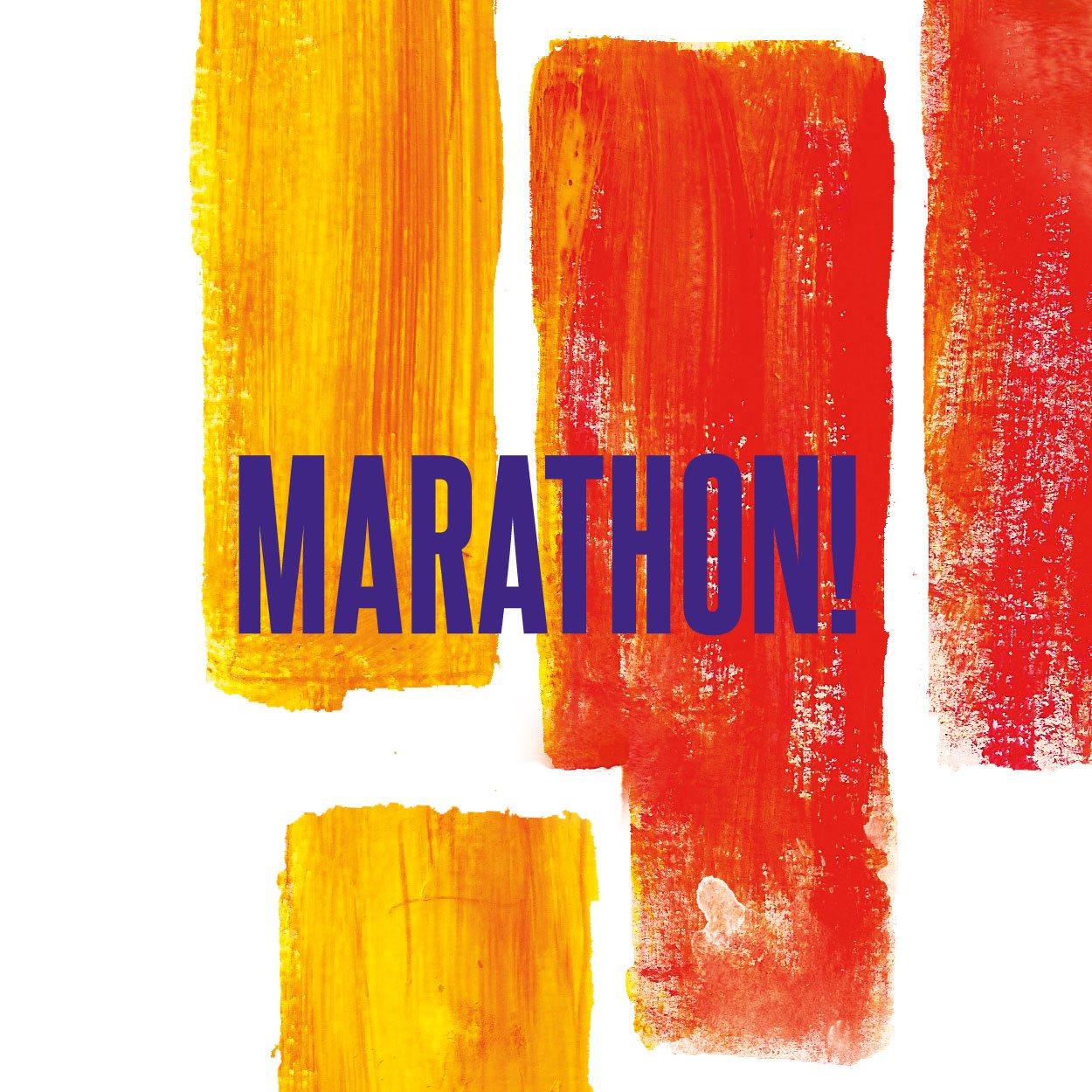 MARATHON! 2015 Jour 2 - Flyer front