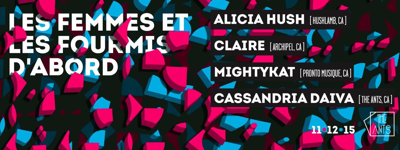 The Ants: les Femmes et les Fourmis D'abord - Flyer front