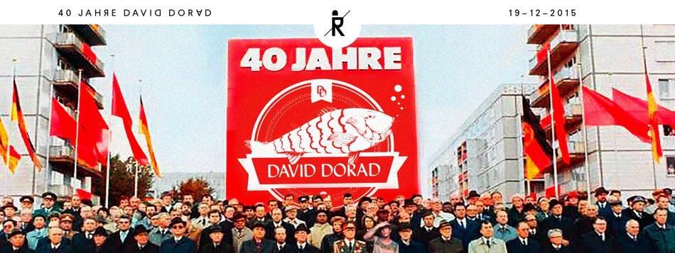 40 Jahre David Dorad with Madmotormiquel - Canson - David Dorad - a.o - Flyer front