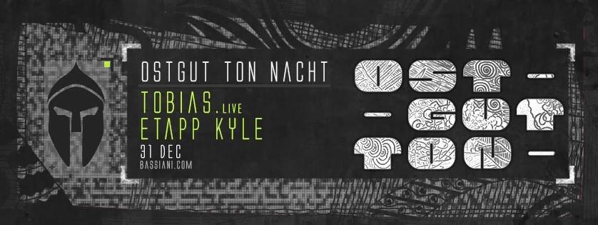 Bassiani: Ostgut Ton Nacht with Tobias. & Etapp Kyle - Flyer front