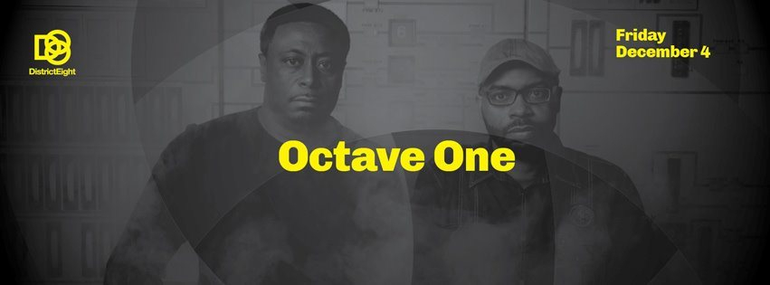 Octave One - Flyer front