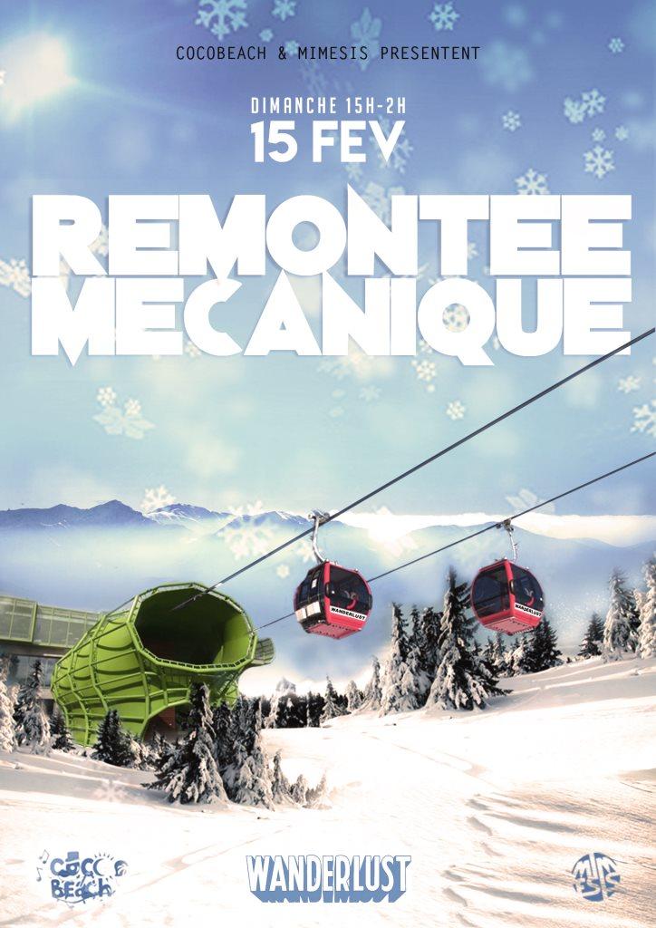 Remontée Mecanique - Flyer back