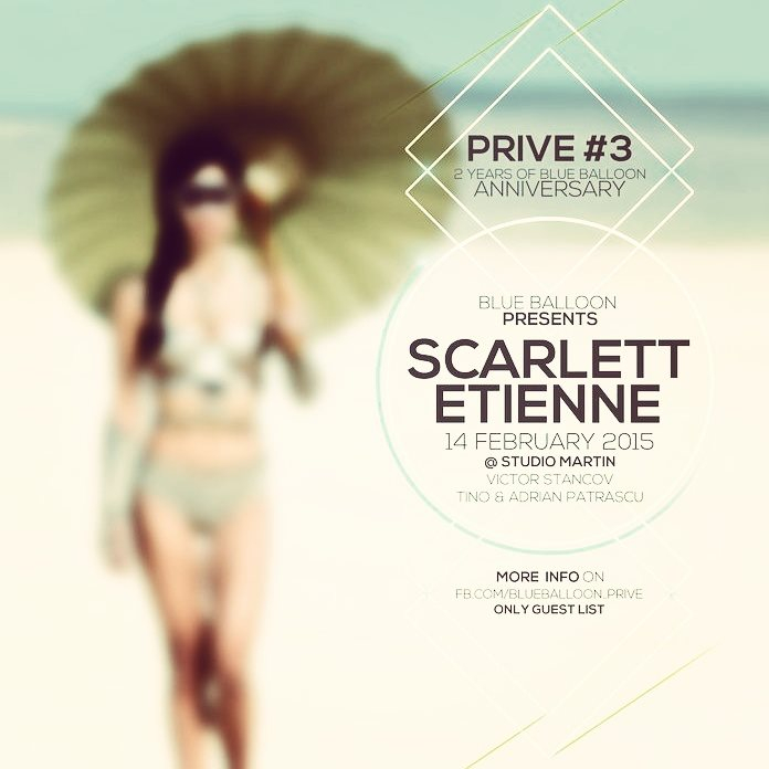 Prive - Flyer front
