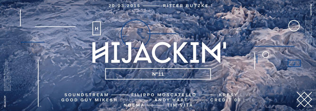 Hijackin - Flyer back