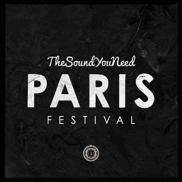 Thesoundyouneed Paris Festival - Flyer front