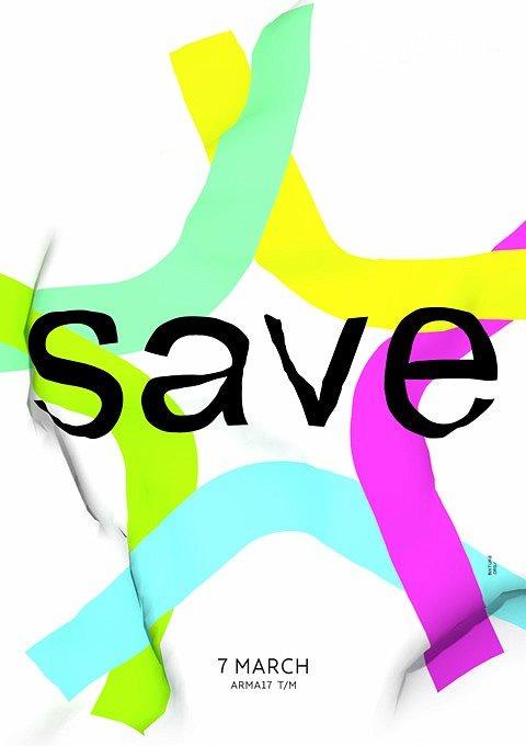Save Festival - Flyer front