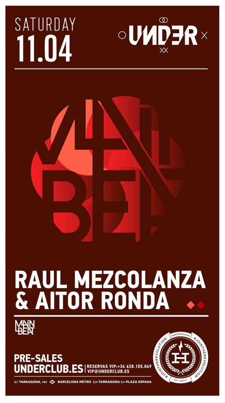 Under Club presents Raul Mezcolanza + Aitor Ronda - Flyer back