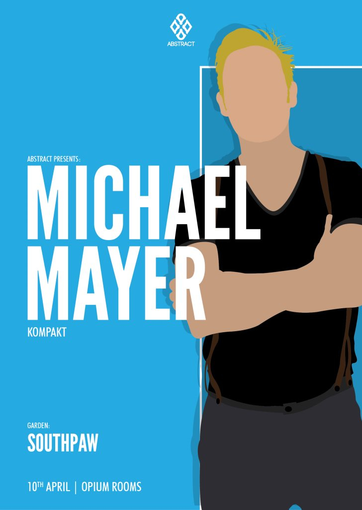 Abstract presents Michael Mayer - Flyer front