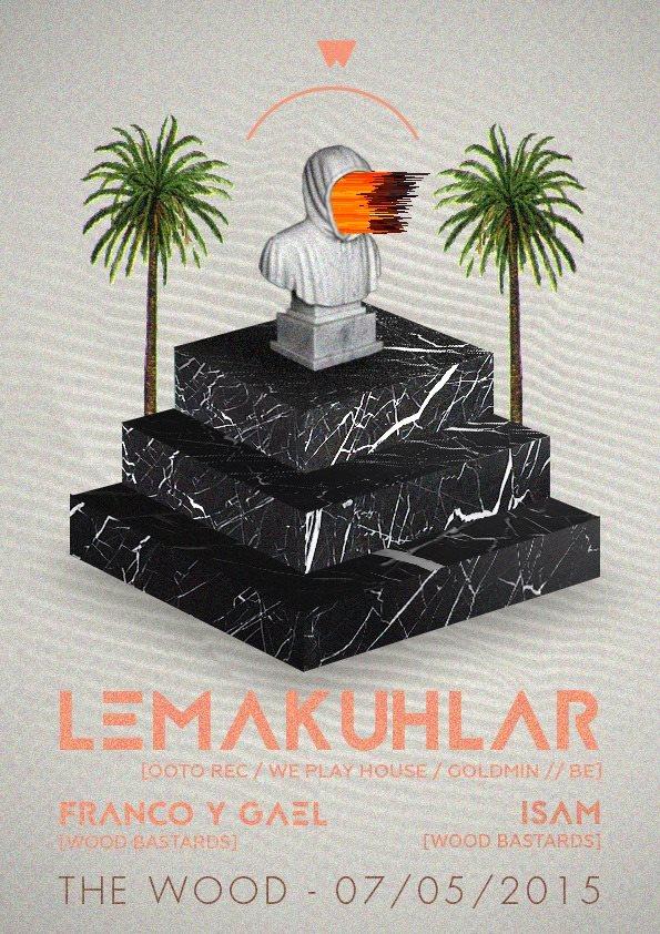 Bastards Love Music with Lemakuhlar - Flyer front