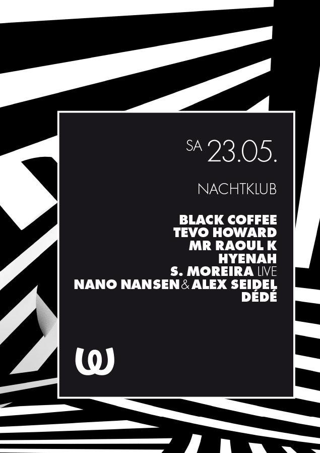 Nachtklub - Flyer front