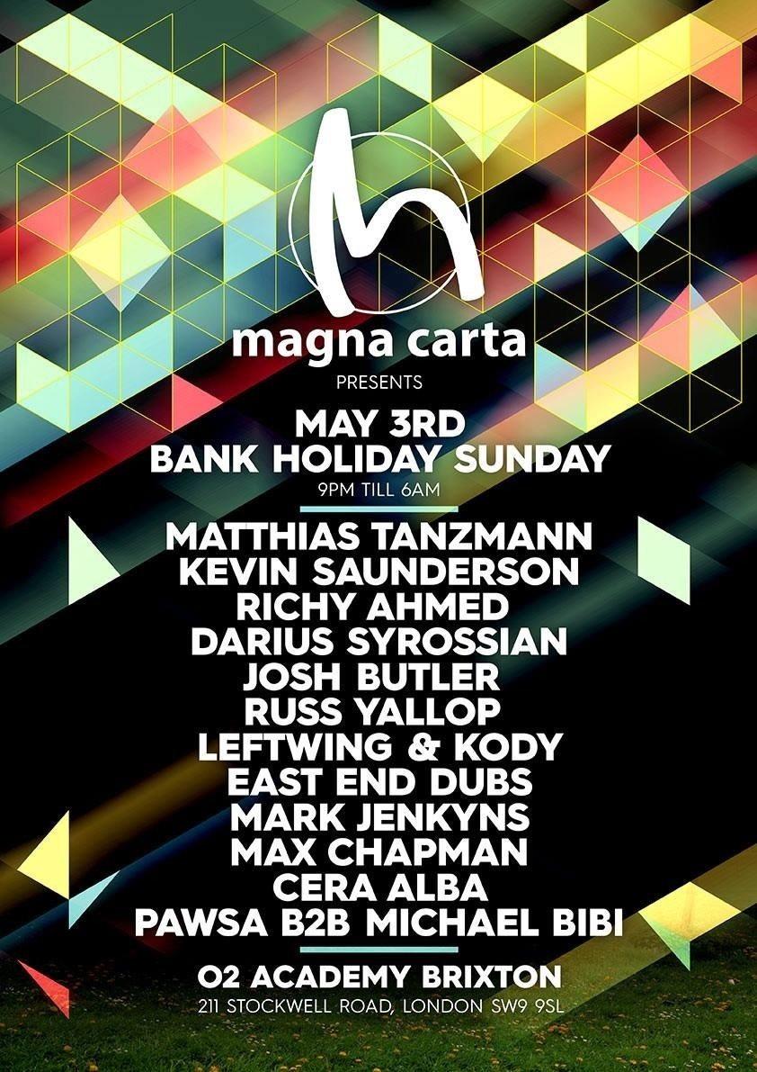 Magna Carta - Tickets at Magna-TIX.COM - Flyer front