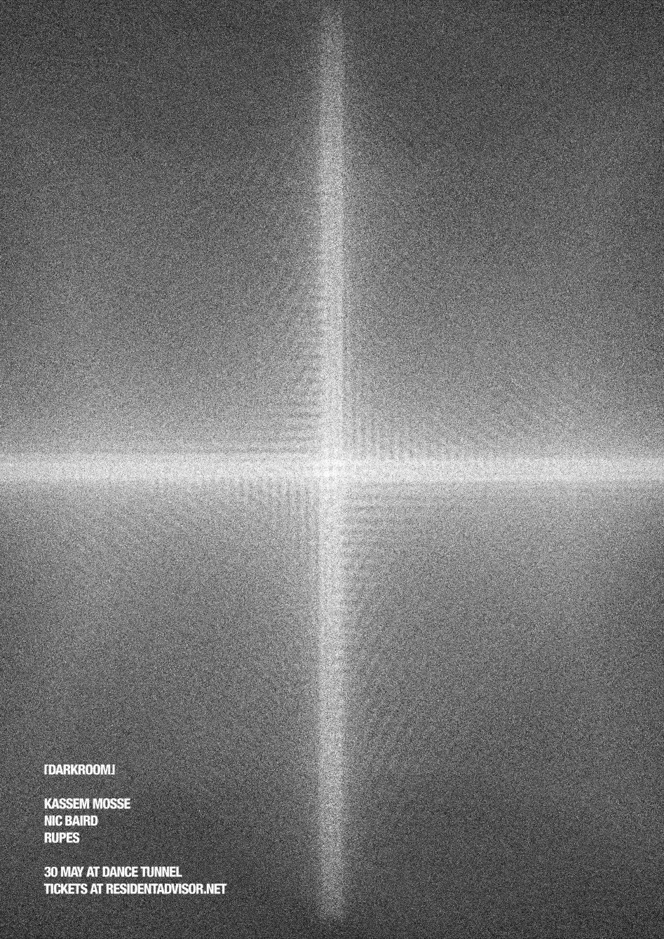 Darkroom with Kassem Mosse - Live - Flyer back