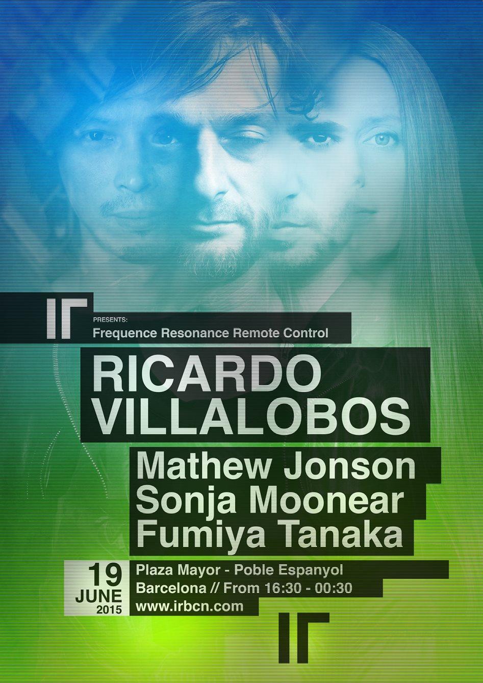 IR presents: FRRC by Ricardo Villalobos - Flyer front