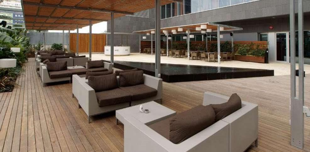 Oliver Huntemann presents: Terrace Party in Barcelona Off Week - Flyer back