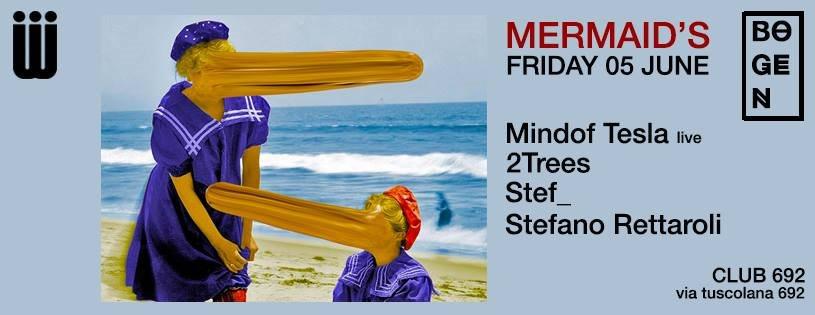Mermaid's - Bogen - Flyer front