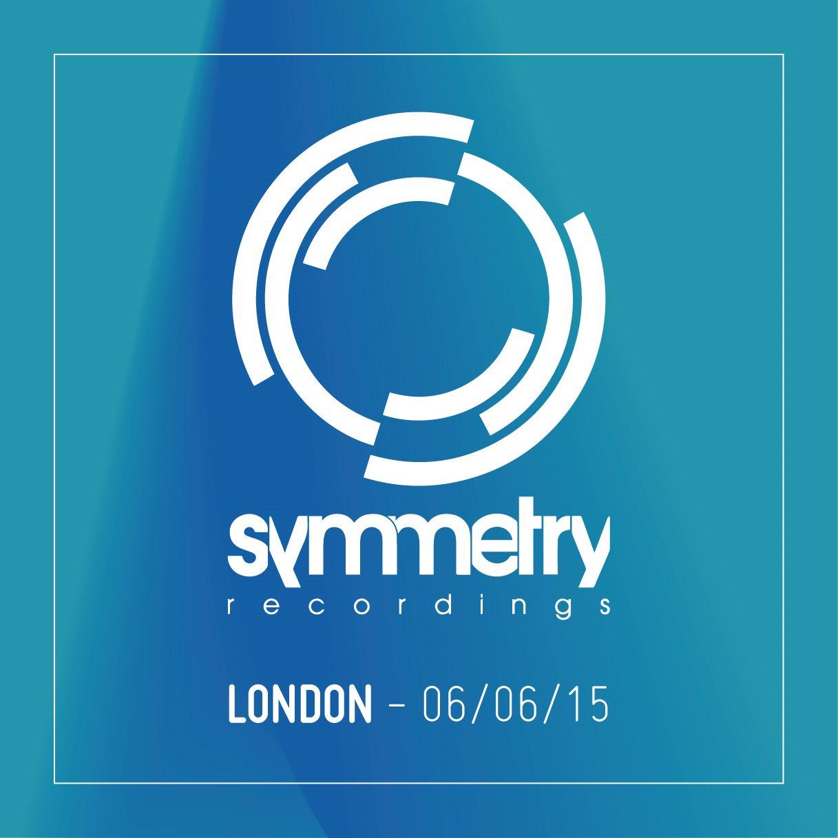 Symmetry Recordings London - Flyer front