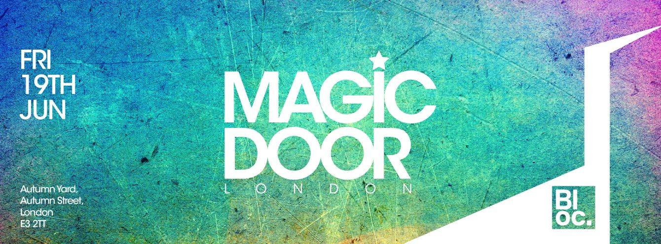 Magic Door - Flyer front