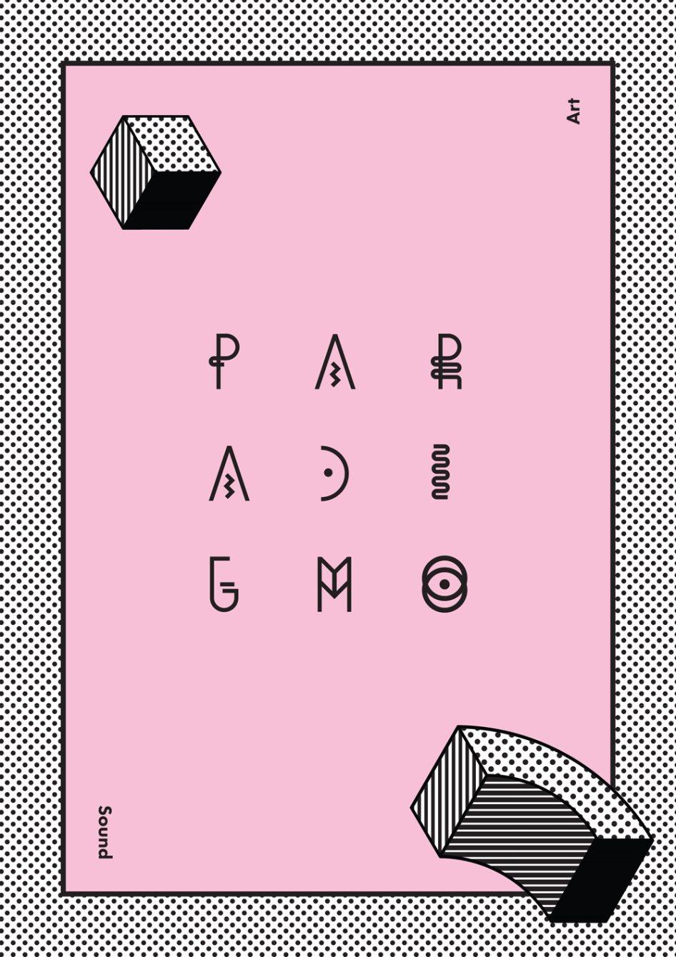 Paradigm - Modini Debut Live Set - Flyer back