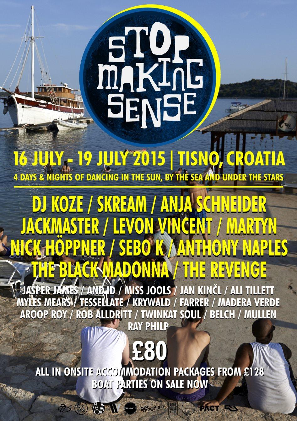 Stop Making Sense 2015 - Flyer front
