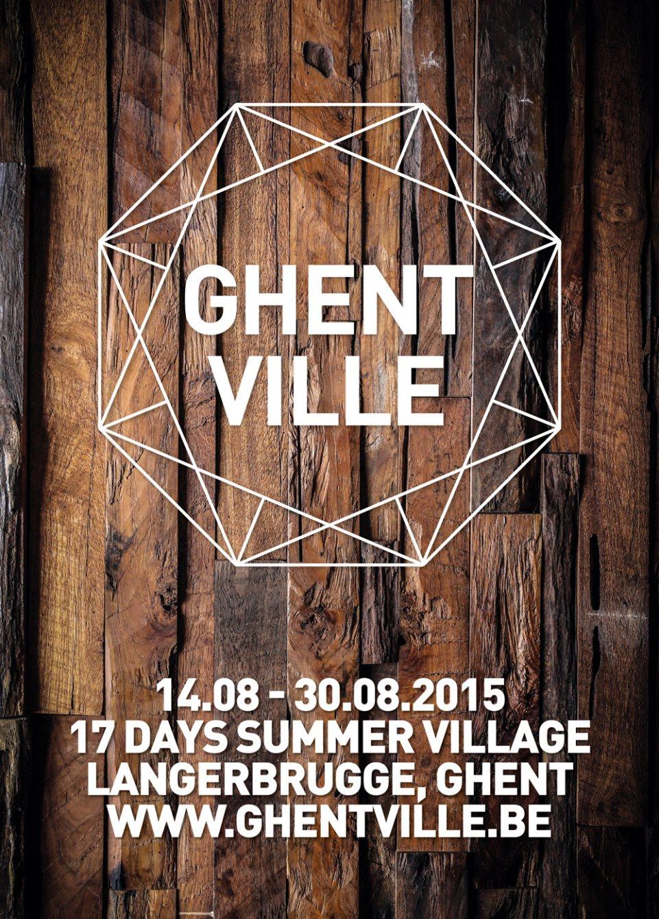 Ghentville 17 Days Summer Village  Opening Weekend - Flyer back