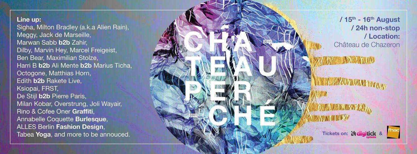 Château Perché Festival - Flyer front