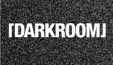 Darkroom with Joey Anderson - Flyer front