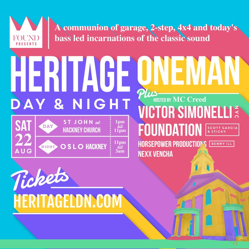 Heritage day & Night - Flyer back