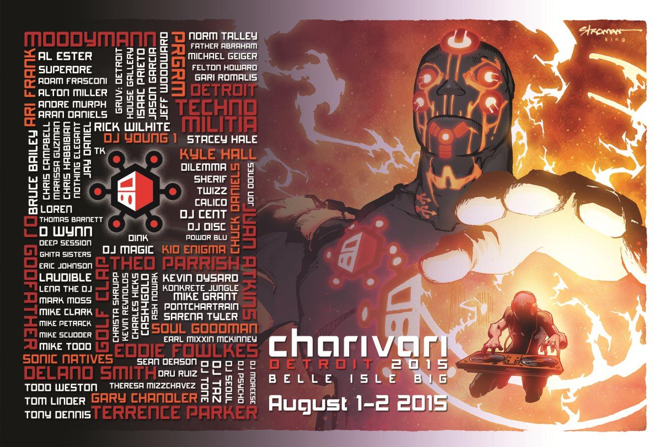 Charivari Detroit 2015 - Flyer front